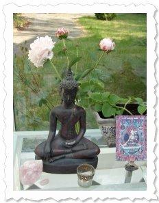 Buddha und seine Shakti beisammen